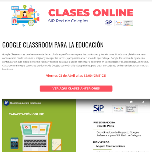 clases on line SIP